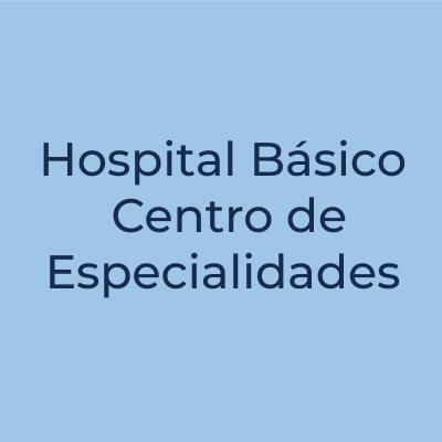 Hospital Básico Center de Especialidades
