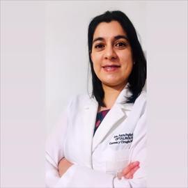 Dra. Aura  Pailiacho Luna, Oftalmología