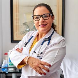 Dra. María Gallegos, Neumología