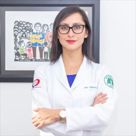 Dra. Liliana  Paez Vargas, Neumología