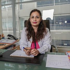 Dra. Yazmina Lascano, Neumología Pediátrica