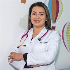Dra. Giomayra  Espinosa Espinosa, Pediatría