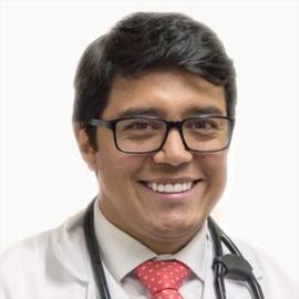 Dr. Daniel Castillo Beltrán, Medicina Interna