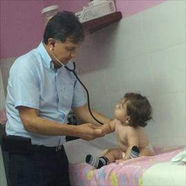 Dr. Freddy  Gustavo  Vega  Proaño , Pediatría