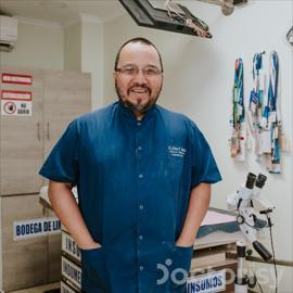 Dr. Alfonso Proaño, Colposcopia