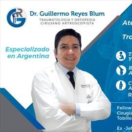 Dr. Guillermo  Reyes , Cirugía Ortopédica y Traumatológica