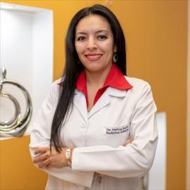 Dra. Patricia Durán, Medicina Interna