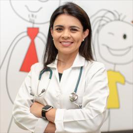 Dra. Patricia Aldean Vivanco, Pediatría