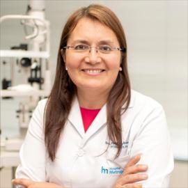 Dra. Patricia Jiménez, Oftalmología