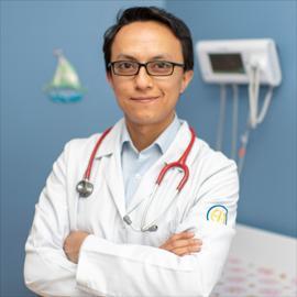 Dr. Carlos Alomía, Cardiología Pediátrica