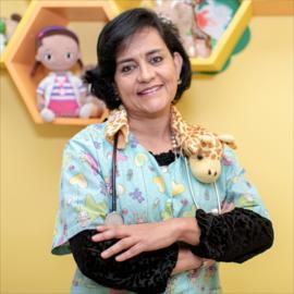 Dra. María Luisa Felix, Pediatría