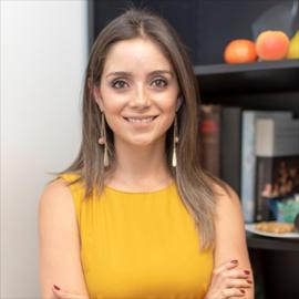 Dra. María Isabel  Cevallos Jaramillo, Nutrición