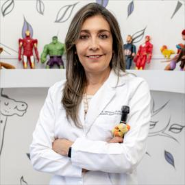 Dr. Mercedes  Silva Aguiar, Otorrinolaringología
