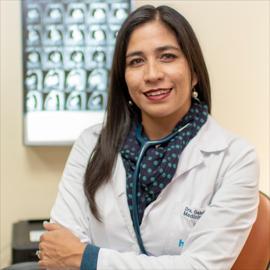 Dra. Gabriela Calero, Medicina Interna