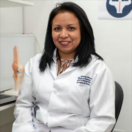 Dra. Wendy  Bravo Chávez, Fisiatría