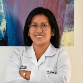 Dra. Johanna Vanessa Suárez Salazar, Psiquiatría Geriátrica
