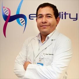 Dr. Juan Galarza , Genética Clínica, Citogenética, Metabolismo
