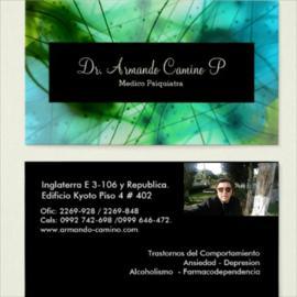 Dr. Armando  Camino Proaño, Psiquiatría