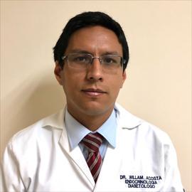 Dr. William  Daniel Acosta Naranjo , Endocrinología