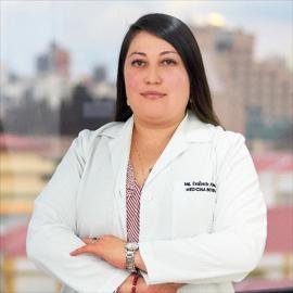 Dra. Estibaliz  Almeida Paredes, Medicina Interna