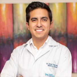 Dr. Israel  Narváez Vásquez, Medicina Interna