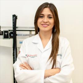 Dra. Daniela Parreño, Nutrición