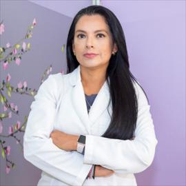 Dra. Loida Eunice Velásquez Amores, Acupuntura
