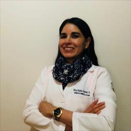 Dra. Karla  Garay García, Endocrinología