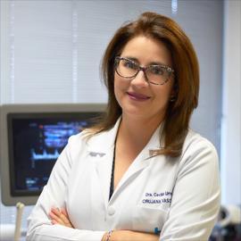Dra. Cecilia  Urresta, Cirugía Vascular
