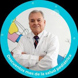 Dr. Luis Caicedo Urresta, Pediatría