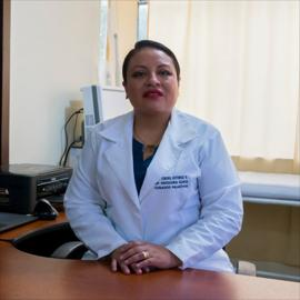 Dra. Lorena Gutiérrez, Oncología Médica